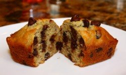 banana chocolate chip loaf