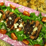 Is Spring on your Dinner Table? – Fast and Flavorful Grilled Steak and Arugula Salad
