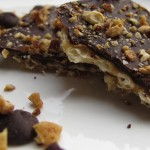 Chocolate-covered Matzo with Toasted Nuts and Sea Salt