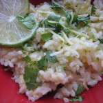 French Fridays with Dorie: Creamy, Cheesy, Garlicky Rice w Spinach