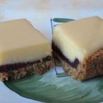 A Fun Twist on Two Classics: Key Lime Bars with Chocolate Pistachio Crust