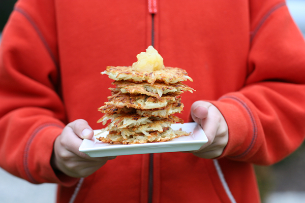 potato latke recipe
