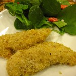 Brendas Breaded Chicken with Garlic-infused Olive Oil &#8211; Perfect for a Weeknight Meal