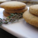 Orange Thyme Cocktail Cookies &#8211; A Unique Holiday Appetizer
