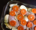 Jerusalem Roasted Chicken with Clementines