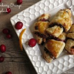 Cranberry Orange Rugelach for Aunt Marilyn and Thanksgivukkah