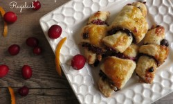 cranberry orange rugelach
