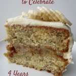 Four Year Blog Anniversary and a Pick-Your-Own Cookbook Giveaway