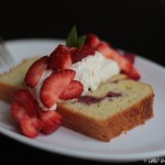 California Creamin': Roasted Strawberry Shortcake with Olive Oil and Orange-scented Whipped Cream