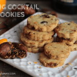 Fig Cocktail Cookies: Surprise Your Holiday Guests with this Savory Shortbread Treat
