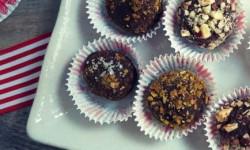 chocolate nutella truffles
