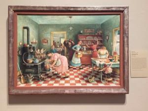Thanksgiving by Doris Lee Chicago Art Institute
