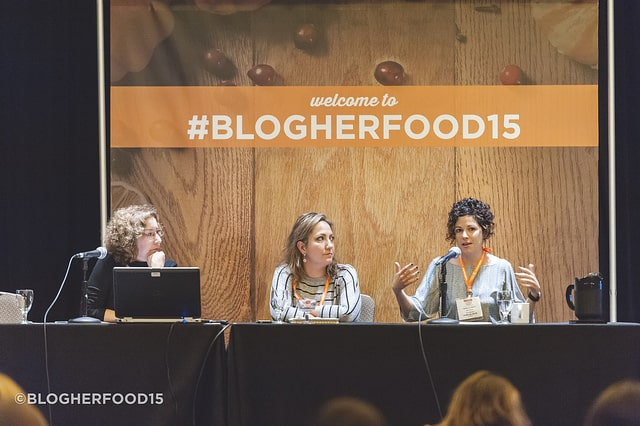 Business Plan Panel at BlogherFood15