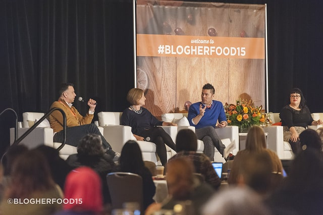 Saturday keynote blogherfood15 blogger happiness