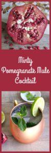 pomegranate mule cocktail