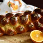 Orange and Anise Scented No-Rise Challah Bread