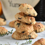 Mini Irish Soda Biscuits with Currants, Caraway, and Thyme