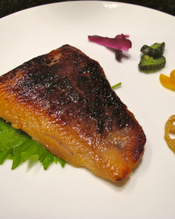 miso marinated cod