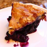 Blueberry Pie to Warm up your Winter