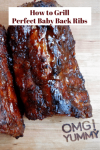 Perfect Baby Back Ribs w smoky rub and bourbon bbq sauce