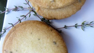Orange Thyme Cocktail Cookies - A Unique Holiday Appetizer