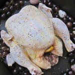 chicken with grapes and shallots