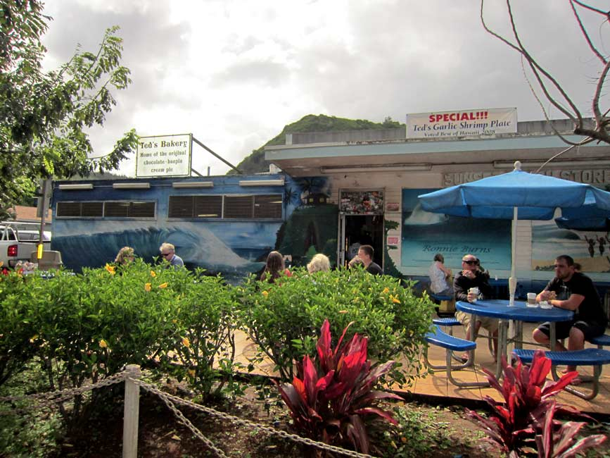 View of Ted's Bakery in North Shore Oahu