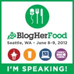 A Graduation Sandwich: Served up at BlogHerFood 12 in Seattle!