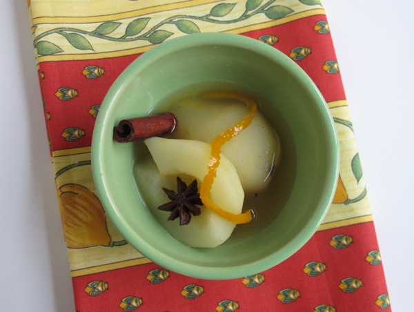 French Fridays w Dorie Poached Apples and Pears