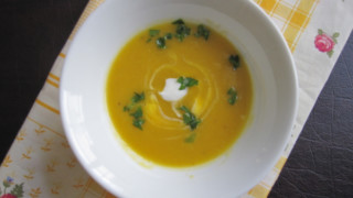 Squash Soup Shooters to Toast the Arrival of Fall