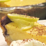 key lime pie with whipped cream for pinterest