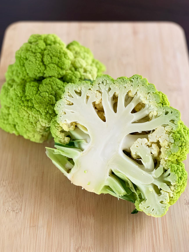 How to Cook Green Cauliflower (or any color) - OMG! Yummy