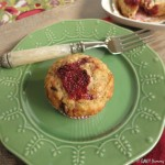 Enjoying a California Fall: Banana Chocolate Chip Muffins with Roasted Strawberries