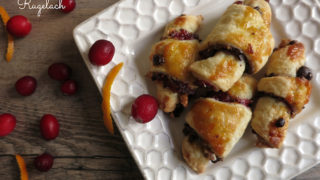 Cranberry Orange Rugelach for Aunt Marilyn
