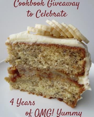 blog anniversary cookbook giveaway