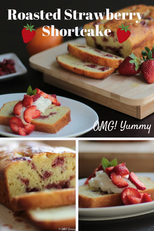 This Strawberry Shortcake Recipe baked with olive oil tickles your tastebuds with strawberries two ways and a touch of orange in the cake and topping. #summer #strawberries #strawberryshortcake #oliveoil #whippedcream #strawberryshortcakerecipe