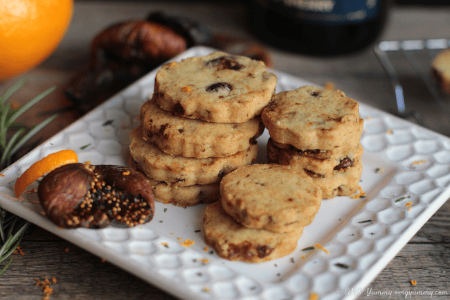 Fig Cocktail Cookies