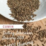 Comforting Cumin: Tasting Jerusalem January 2015