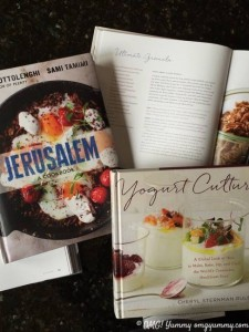 "Sternman Rule's new cookbook ""Yogurt Culture"" is a perfect companion to ""Jerusalem: A Cookbook to learn in depth about an ingredient so central to Middle Eastern cuisine: yogurt."