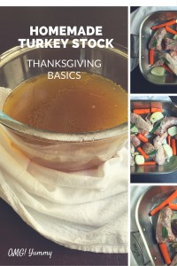 Thanksgiving Basics: Homemade Turkey Stock by omgyummy.com