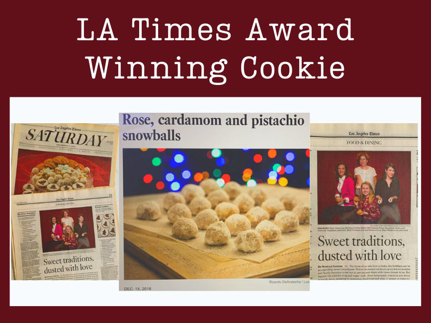 LA Times Award Winning newspaper clips