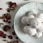Pistachio Snowball Cookies with Rose and Cardamom: A Simple but Exotic Holiday Cookie