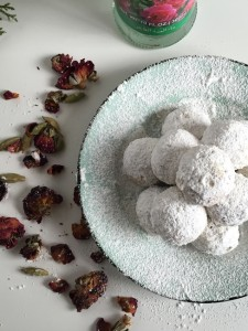 Rose Cardamom And Pistachio Snowballs A Simple But Exotic Holiday
