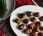 These Spicy Korean Meatballs with Gochujang Glaze work perfectly on a busy weeknight or your SuperBowl buffet. Inspired by a Foxes Love Lemons recipe on Food52