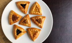 Orange Olive Oil Hamantaschen Dough makes the perfect base for any filling you desire in this traditional Purim cookie