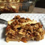 Apricot Apple Matzo Farfel Kugel for Passover