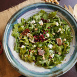 Arugula and Fig Salad — The Perfect Match for Pomegranate Molasses Dressing