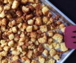 DIY Stuffing Cubes - so easy to make for Thanksgiving - you'll never buy a package at the store again!