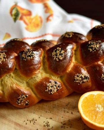 Orange and Anise No-Rise Challah Bread