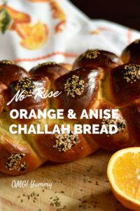 Orange & Anise Scented No-Rise Challah Bread makes homemade bread a reality even for really busy households. And the leftovers make the best french toast!